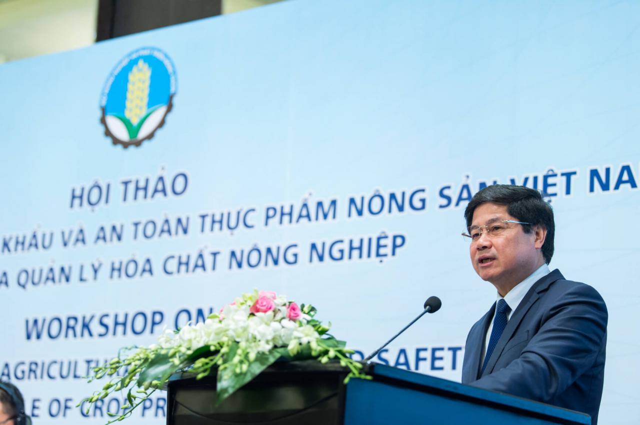 Ông Lê Quốc Doanh - thứ trưởng Bộ Nông nghiệp và Phát triển Nông thôn cho biết